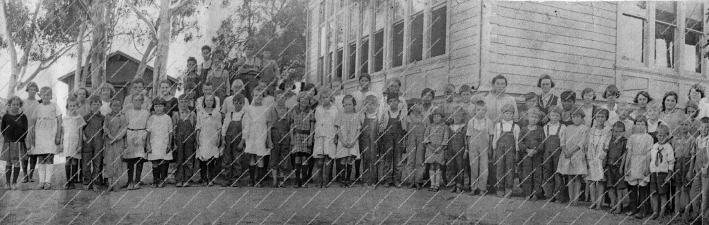 Web marked B & W Santee School students